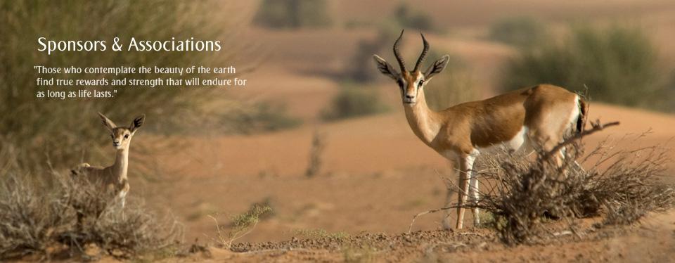 Sponsors & Associations - Dubai Desert Conservation Reserve